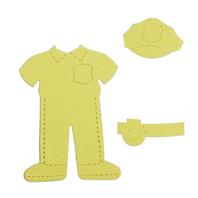Community helper clothes - police officer