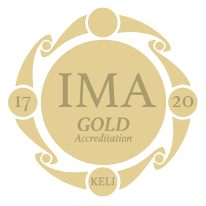 KELI IMA Gold accreditation symbol – 2017-2020